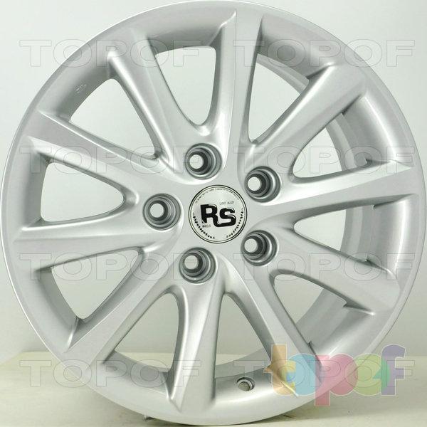 Колесные диски RS S938. Цвет: серебряный