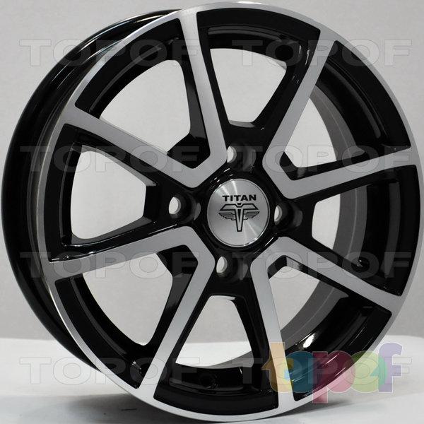 Колесные диски RS Ti01. Цвет: матовый черный