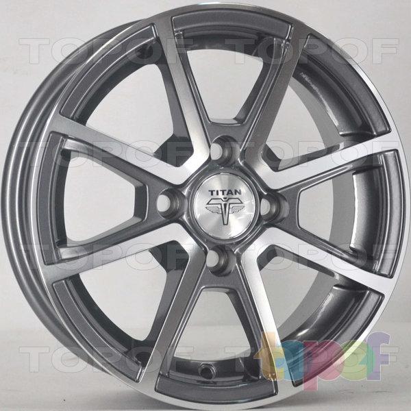 Колесные диски RS Ti01. Цвет: матовый серый, оружейный металл серый, антрацит