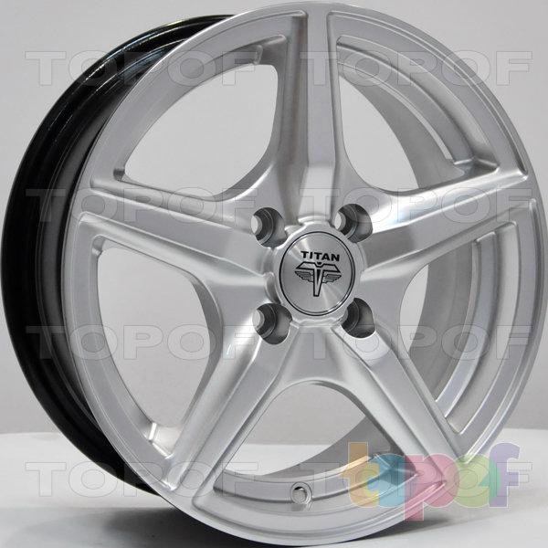 Колесные диски RS Ti03. Цвет: насыщенный серебристый