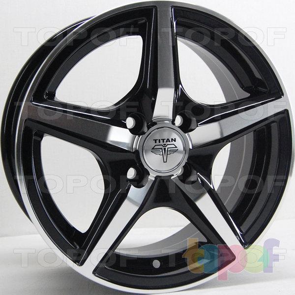 Колесные диски RS Ti03. Цвет: матовый черный