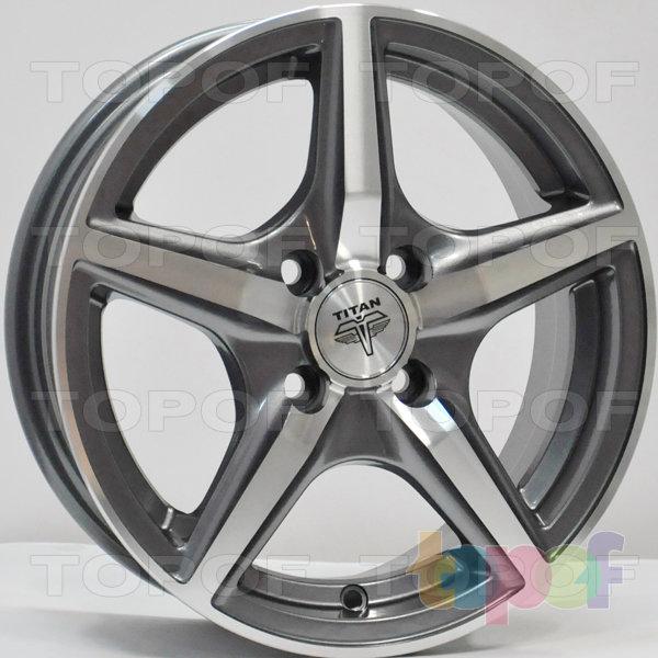 Колесные диски RS Ti03. Цвет: Матовый серый, оружейный металл серый, антрацит