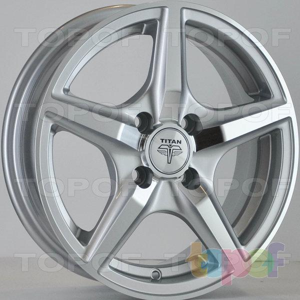 Колесные диски RS Ti03. Цвет: серебристый с дымкой