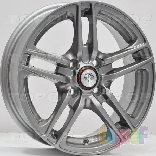Колесные диски RS Ti04. Цвет: Перламутровый металл