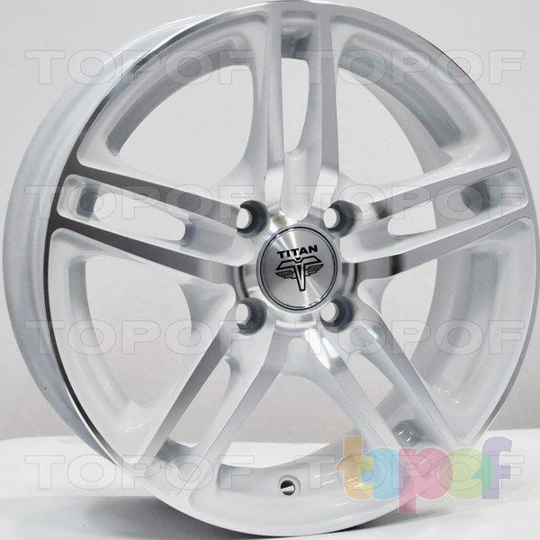 Колесные диски RS Ti04. Цвет: насыщенный серебристый
