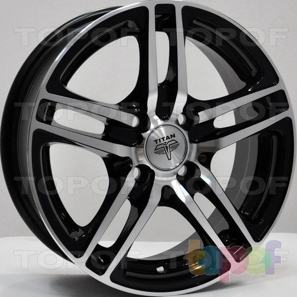 Колесные диски RS Ti04. Цвет: матовый черный
