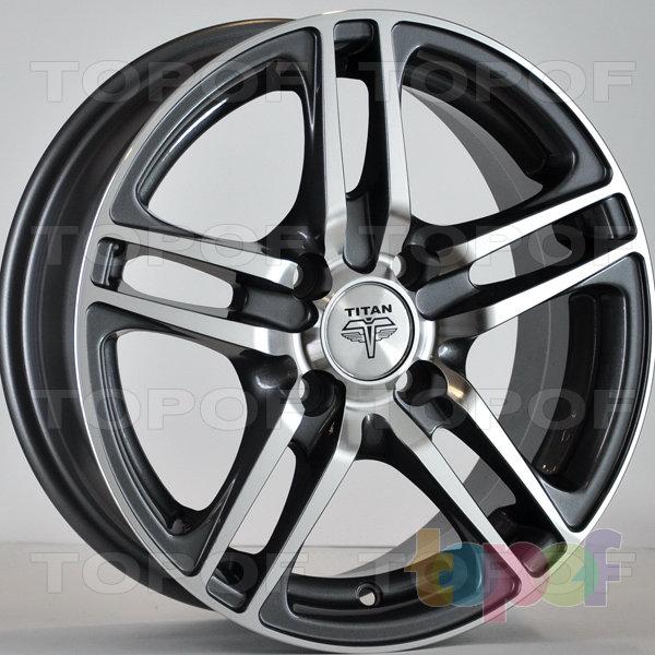 Колесные диски RS Ti04. Цвет: Матовый серый, оружейный металл серый, антрацит