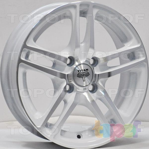 Колесные диски RS Ti04. Цвет: MW