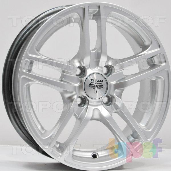 Колесные диски RS Ti04. Цвет: серебряный