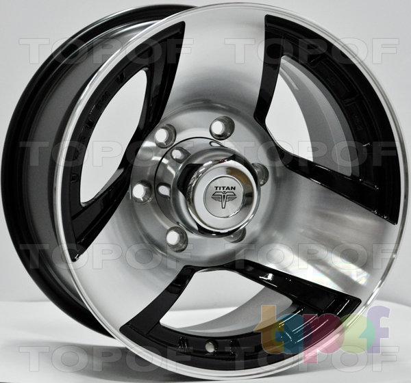 Колесные диски RS Ti05. Цвет: матовый черный