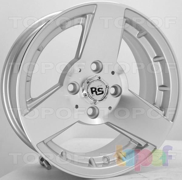Колесные диски RS Ti05. Цвет: серебристый с дымкой