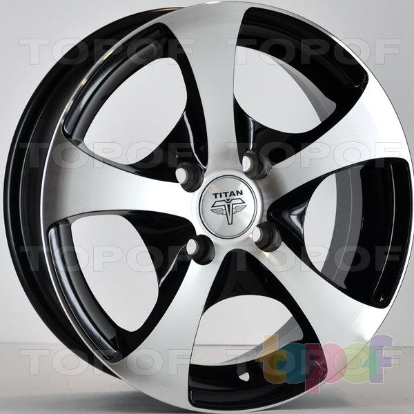 Колесные диски RS Ti06. Цвет: матовый черный