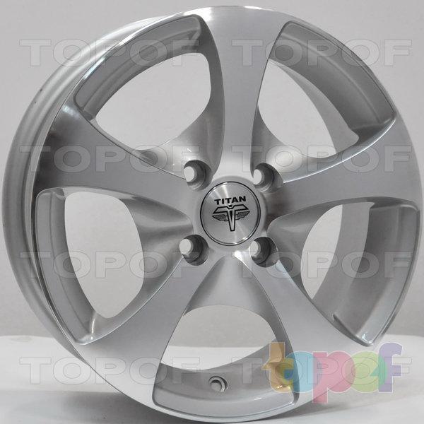 Колесные диски RS Ti06. Цвет: серебристый с дымкой