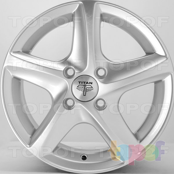 Колесные диски RS Ti07. Цвет: насыщенный серебристый