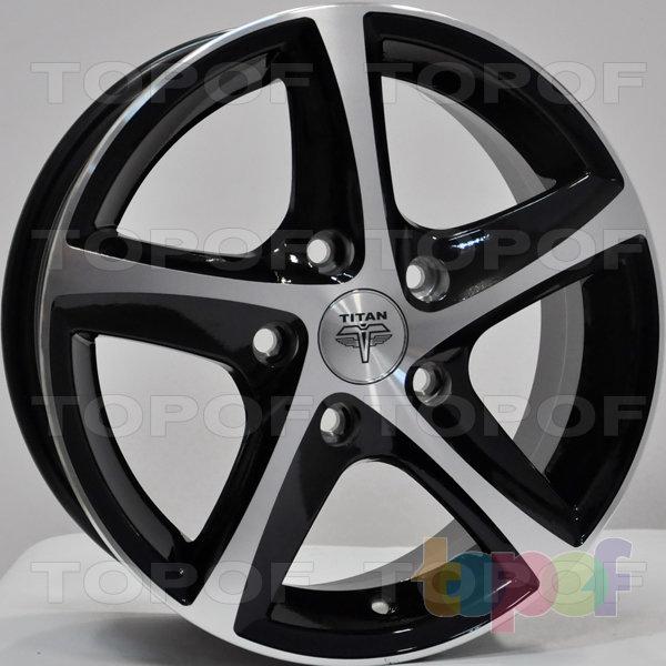 Колесные диски RS Ti07. Цвет: матовый черный