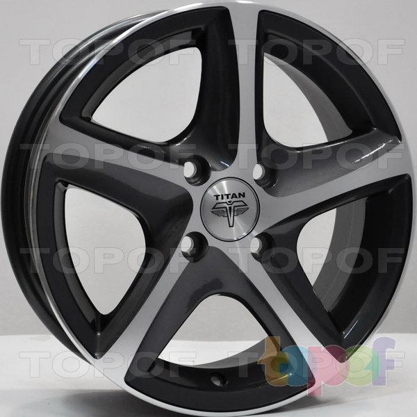 Колесные диски RS Ti07. Цвет: Матовый серый, оружейный металл серый, антрацит
