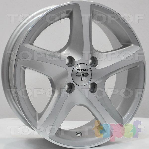 Колесные диски RS Ti07. Цвет: серебристый с дымкой