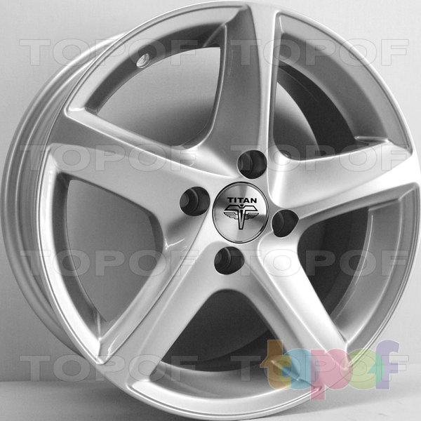 Колесные диски RS Ti07. Цвет: серебряный