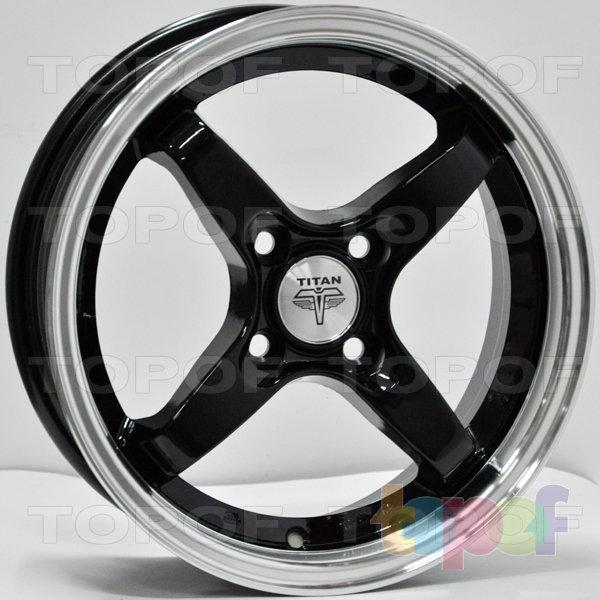 Колесные диски RS Ti08. Цвет: MLB