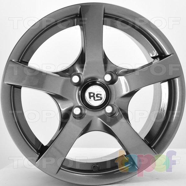 Колесные диски RS Ti09. Цвет: Перламутровый металл