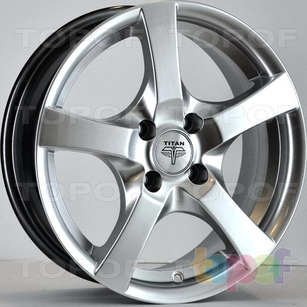 Колесные диски RS Ti09. Цвет: насыщенный серебристый