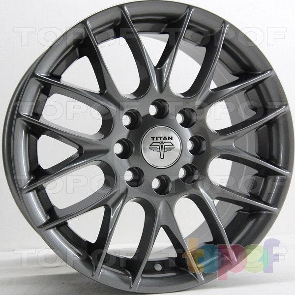 Колесные диски RS Ti10. Цвет: Перламутровый металл