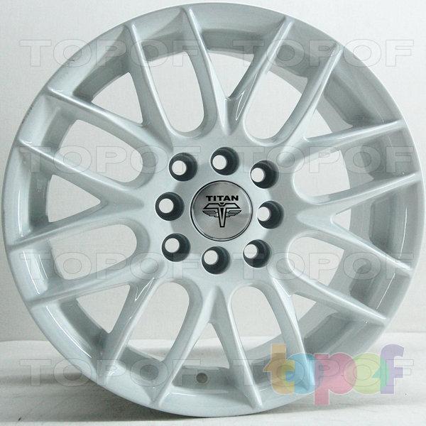 Колесные диски RS Ti10. Цвет: белый