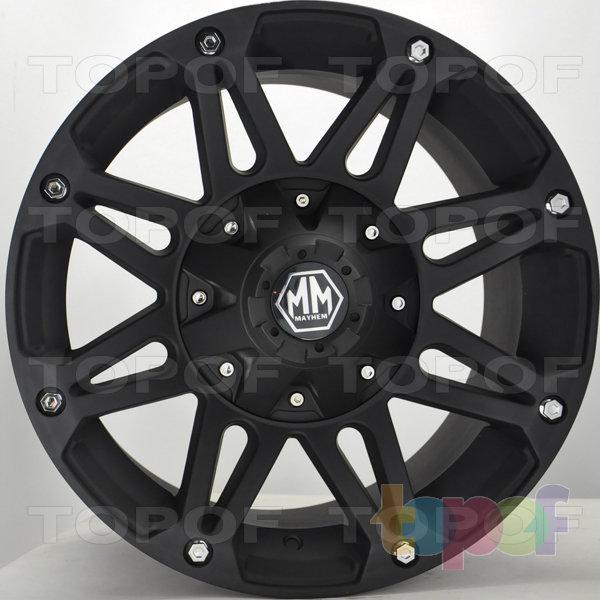Колесные диски RS Z13. Матовый черный