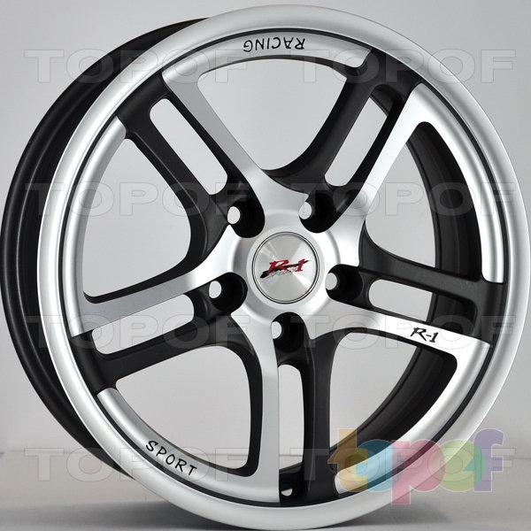 Колесные диски RS Z18. Цвет: насыщенный темно-серый с алмазной пылью