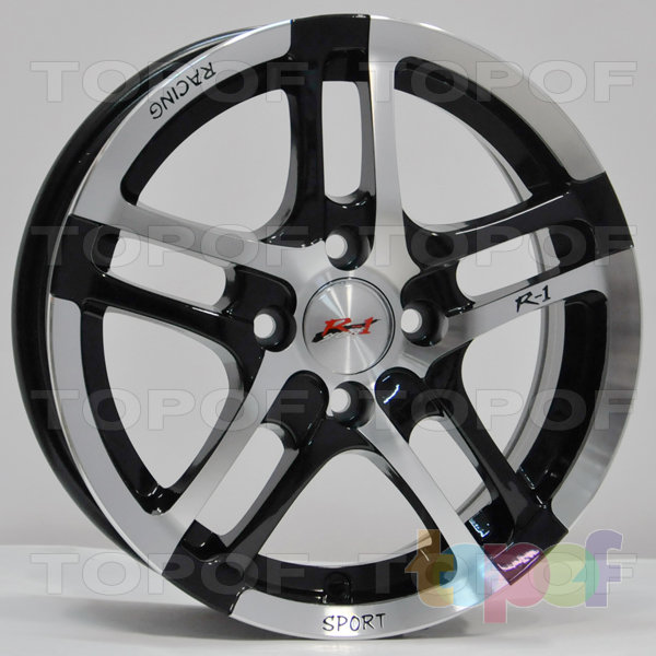 Колесные диски RS Z18. Цвет: матовый черный