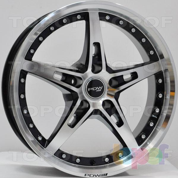 Колесные диски RS Z2. Цвет: матовый черный