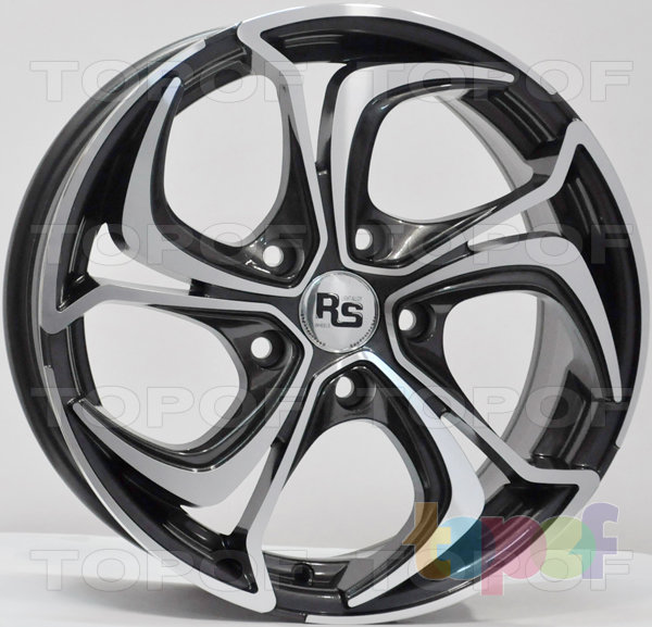 Колесные диски RS Z21. Изображение модели #4