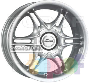 Колесные диски Shaper Twinlight (TNL). Изображение модели #1