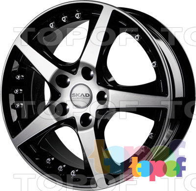 Колесные диски СКАД Диамонд. Изображение модели #1