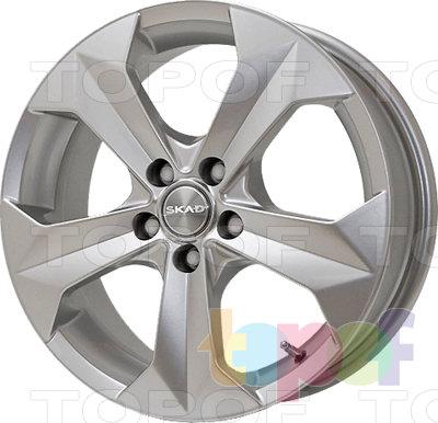 Колесные диски СКАД Гранит. Изображение модели #1