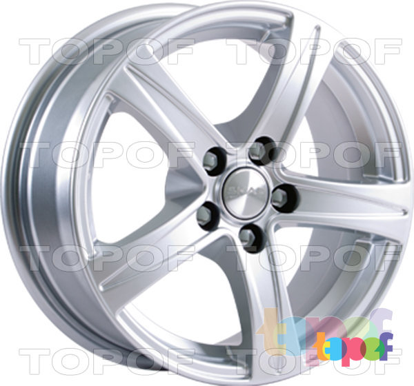 Колесные диски СКАД Сакура. Изображение модели #2