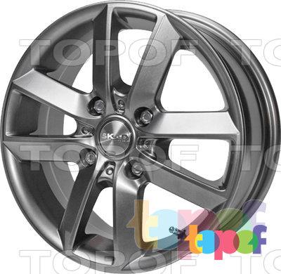 Колесные диски СКАД Самурай. Изображение модели #2
