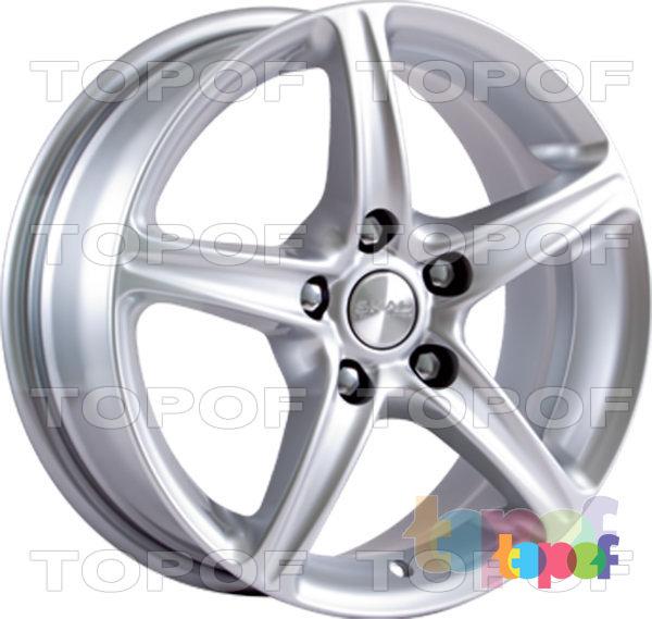 Колесные диски СКАД Слалом. Изображение модели #4