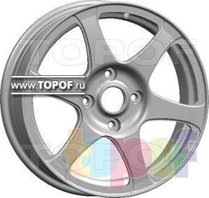 Колесные диски Slik L200. Изображение модели #1