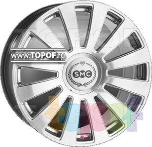Колесные диски SMC AS8. Изображение модели #1