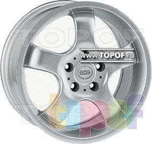 Колесные диски SMC B. Изображение модели #1