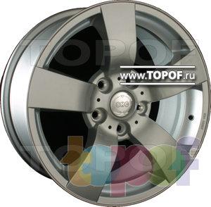 Колесные диски SMC P. Изображение модели #1