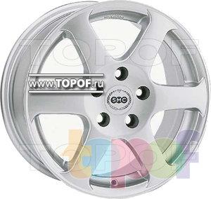 Колесные диски SMC S. Изображение модели #1