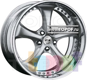 Колесные диски SMC X. Изображение модели #1