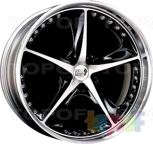 Колесные диски Super Star Leon Hardiritt Vertu. Хромированный