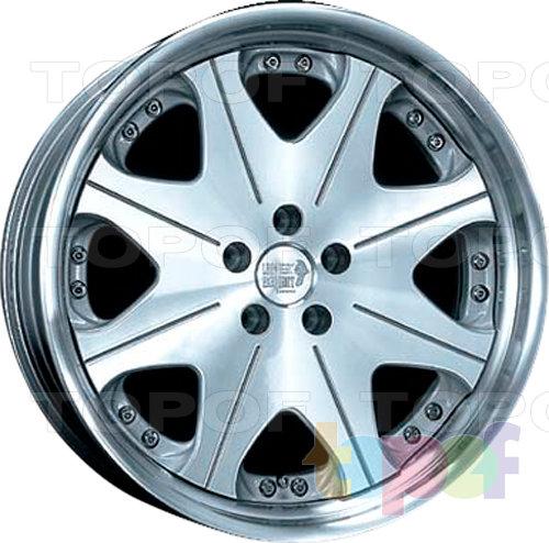 Колесные диски Super Star Leon Hardiritt Waffe. Полированный