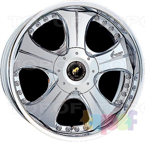 Колесные диски Super Star Pure Spirits Rowel. Хромированный с декоративными серебряными болтами