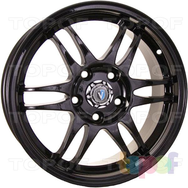 Колесные диски TECH Line 1602. Цвет черный