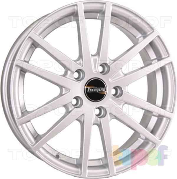 Колесные диски TECH Line 305. Цвет серебристый