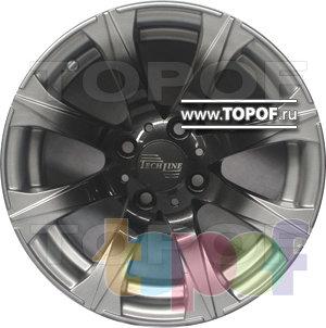 Колесные диски TECH Line 307. Изображение модели #1
